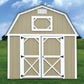Painted Lofted Barn Cabin
