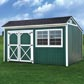 Painted Cottage Shed