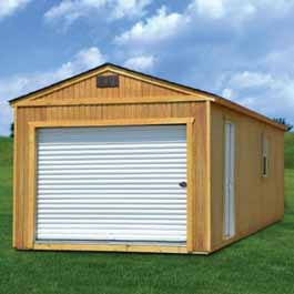 Treated Portable Garage