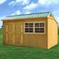 Treated Cottage Shed